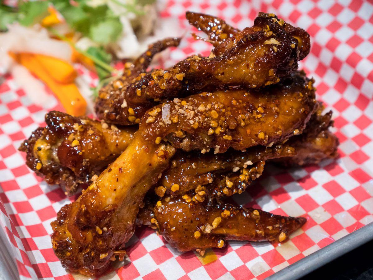 Ike's Vietnamese fish sauce wings at Pok Pok Wing