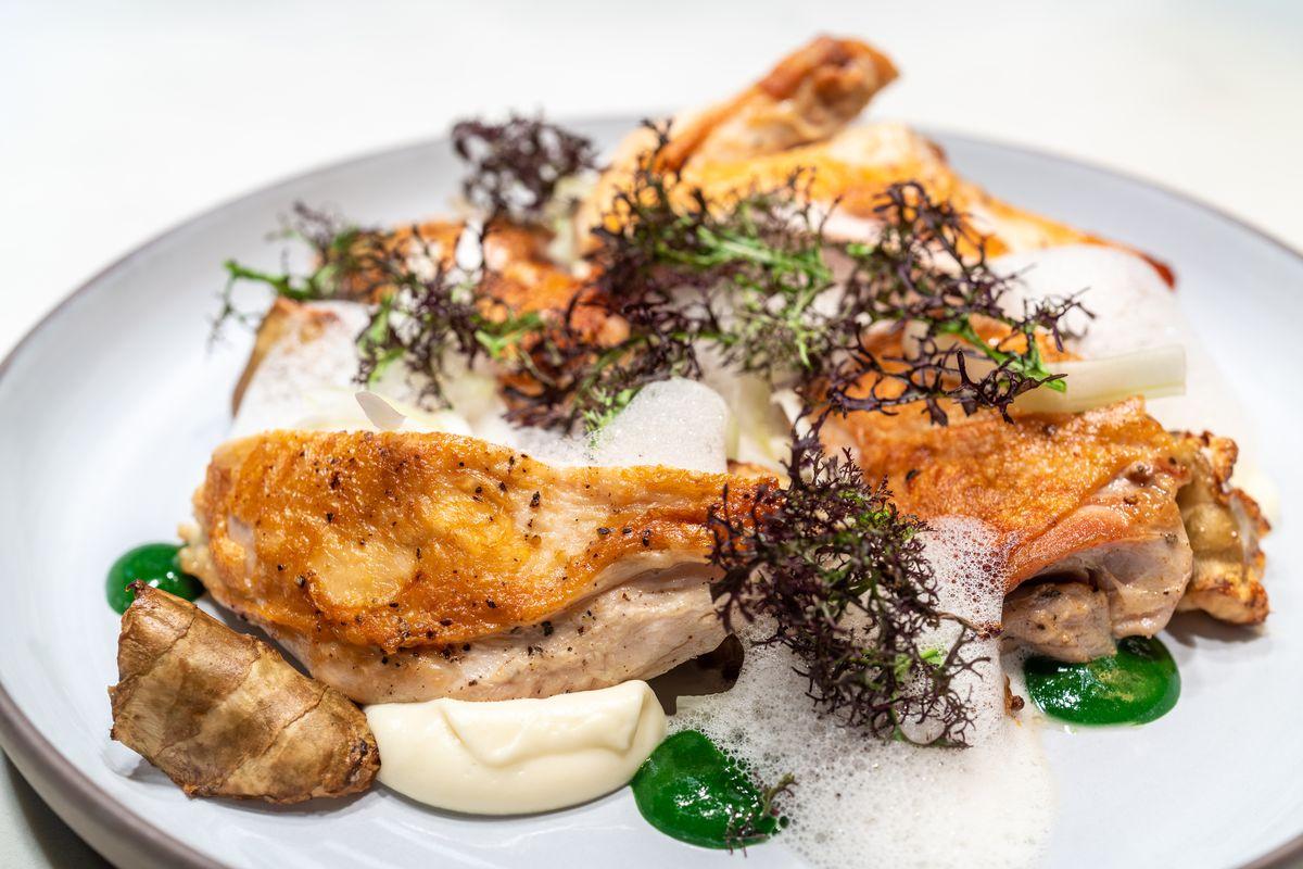 Chicken at Villon