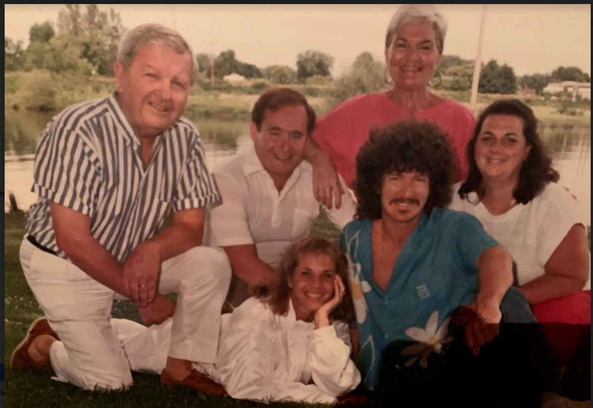 Mille Cronin and her family.