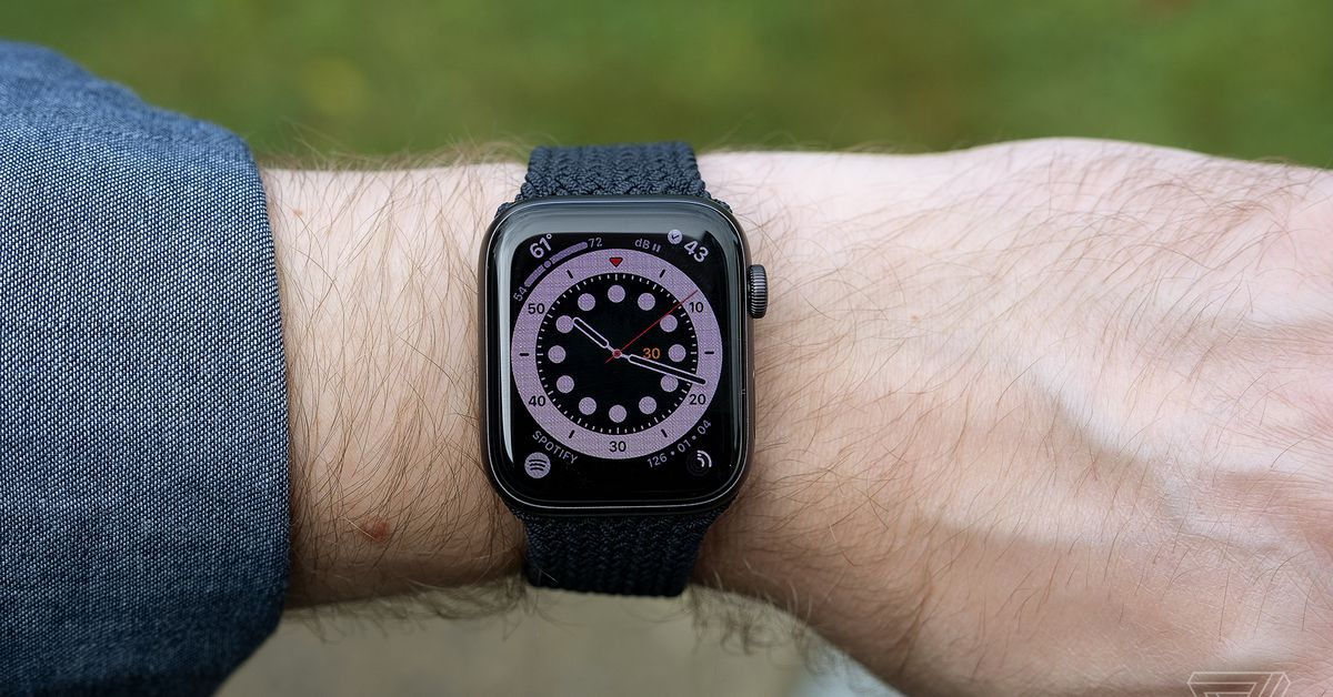 The 44mm Apple Watch SE is  off at Amazon