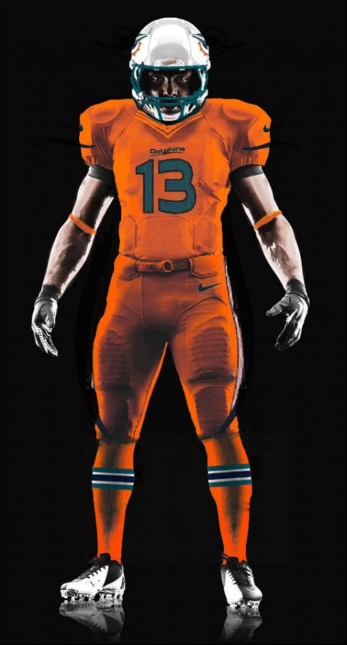 separation shoes 4c6aa ec97e Color Rush uniform leak continues to point to orange jersey ...