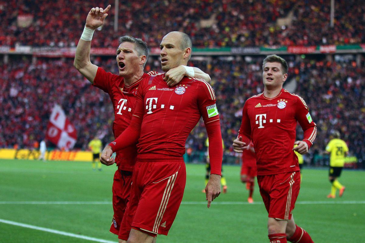 Bayern Munich Vs. Chelsea, 2012 UEFA Champions League ...