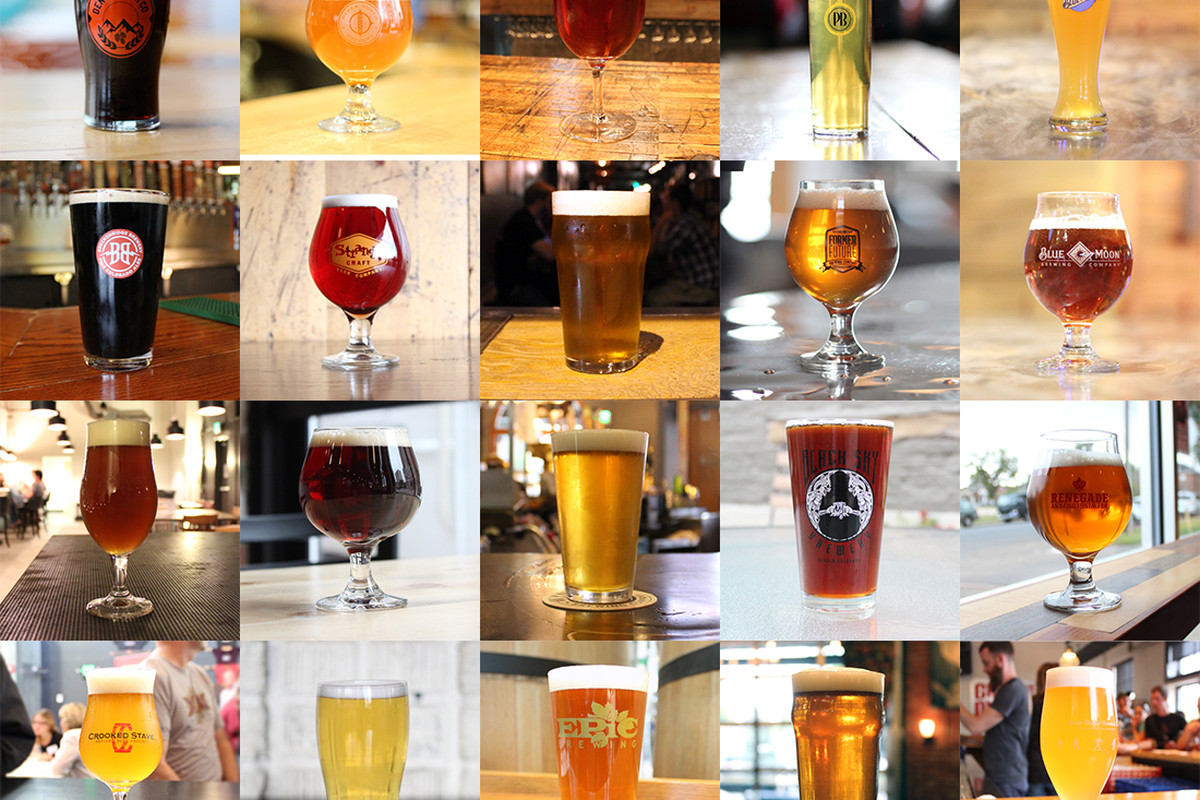 The brews of the Denver Beer Trail