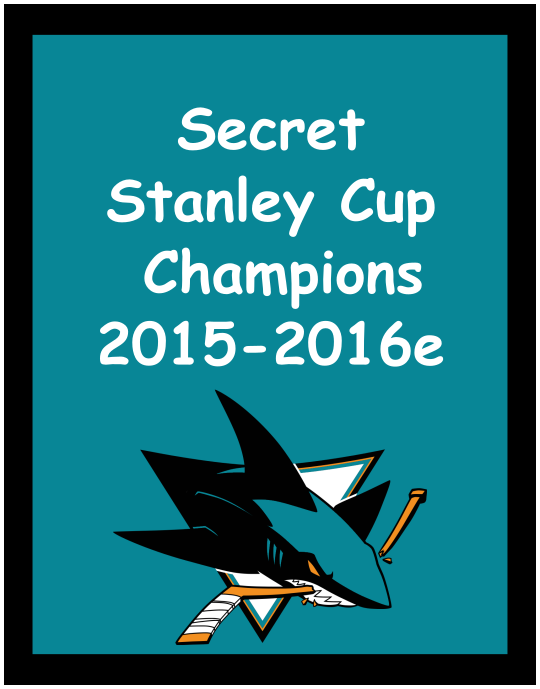 Secret Stanley Cup Champons!
