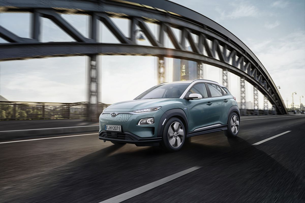 Hyundai S Second All Electric Vehicle The Kona Will Get A Full Debut At Next Week Geneva Motor Show But Today South Korean Automaker