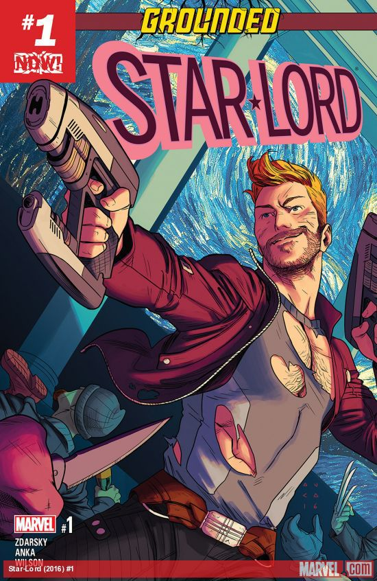 The cover of Star-Lord