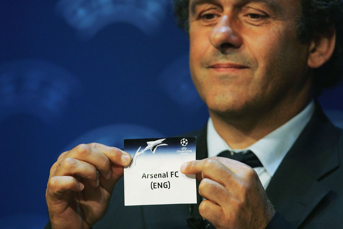 Champions League First Round Draw