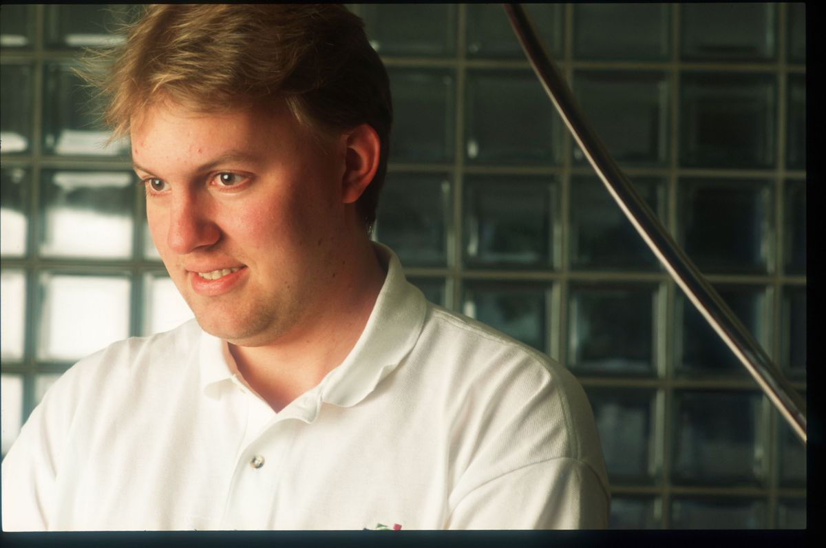 Netscape cofounder Marc Andreessen in 1996.