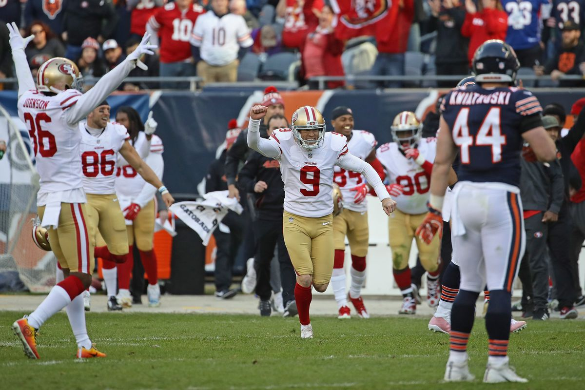 Report: Robbie Gould signs two-year, $10.5M contract with 49ers