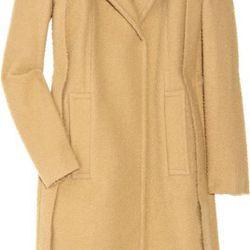 Textured oversized wool-blend coat, $385 (orig. $1,100)