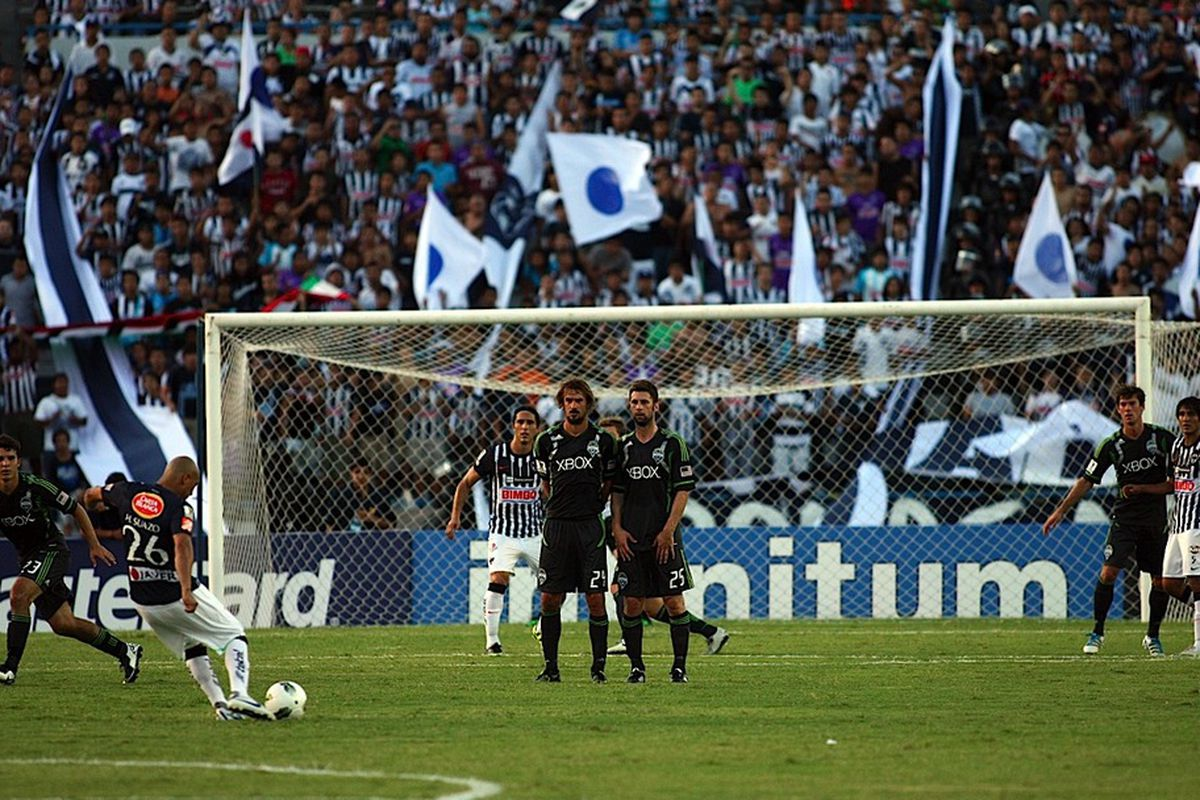 The Seattle Sounders faced down a Monterrey team that was using some of the best players in the Mexican Primera and somehow figured to come away with a 1-0 victory. (Photo courtesy of SoundersFC.com)