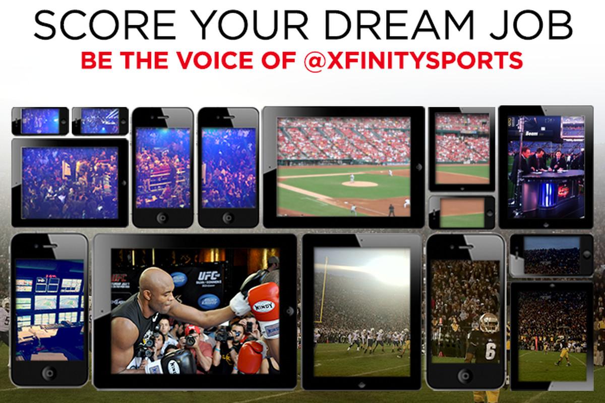 XFINITY: Win the Ultimate Sports Social Media Job - Camden Chat