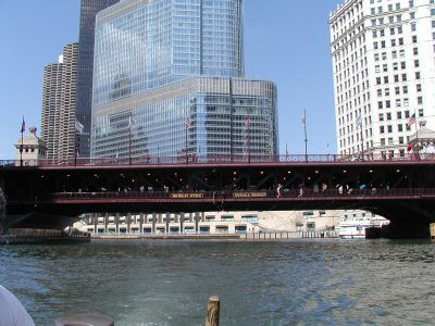 File photo of a view from the Chicago River.<br>Dale Bowman/Sun-Times