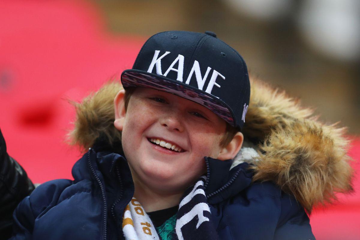 Fan shows support for Harry Kane - Tottenham Hotspur - Premier League