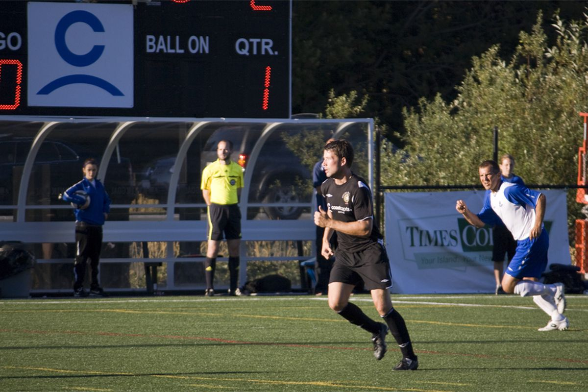 The Victoria Highlanders And FC Edmonton Could Be Clashing Again Sooner Than Expected In An All Canadian Second Division Benjamin Massey Eighty Six