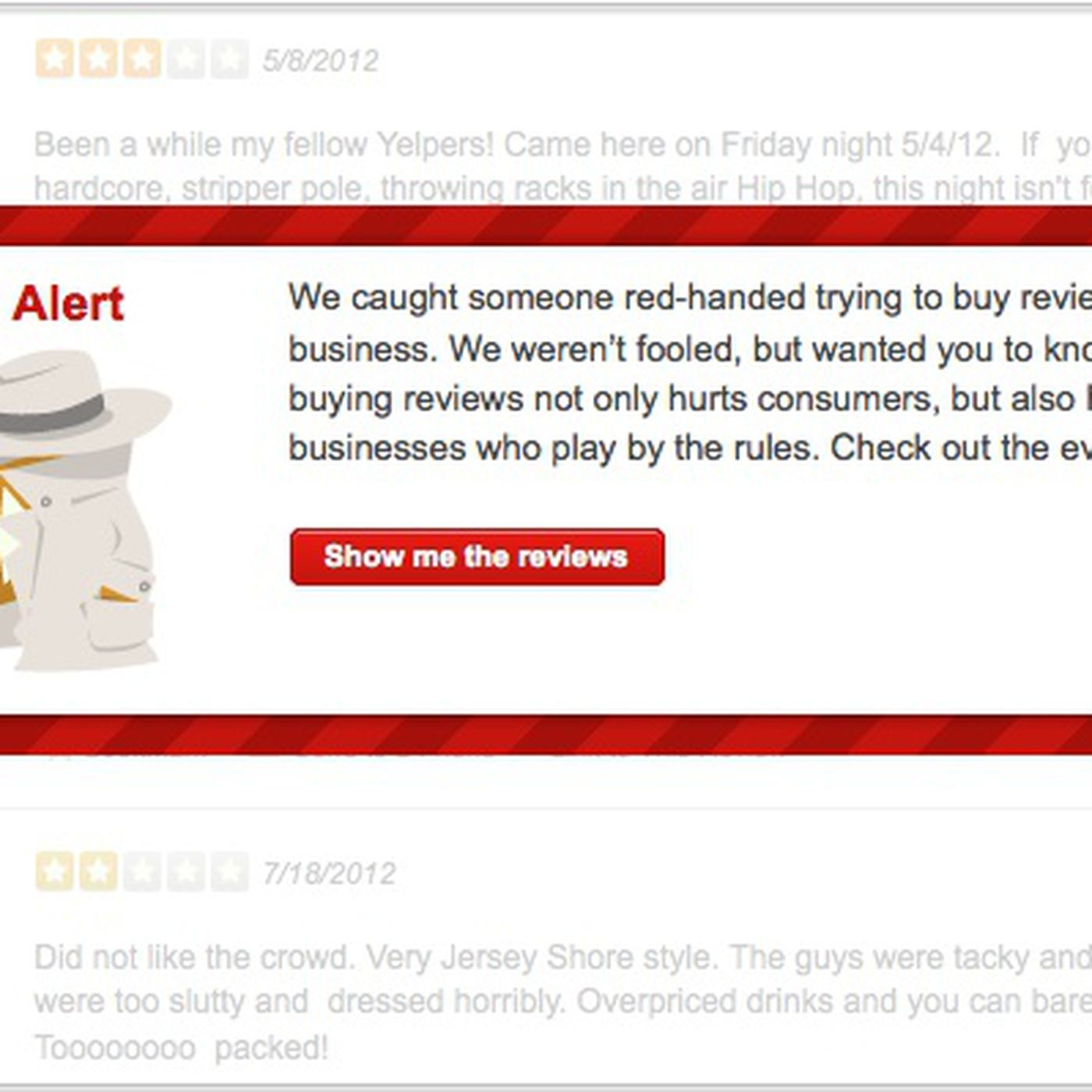 Yelp Cracking Down on Businesses That Buy Fake Reviews - Eater
