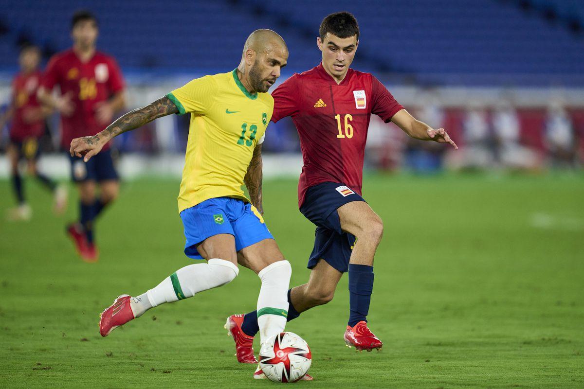Brazil v Spain: Gold Medal Match Men's Football - Olympics: Day 15