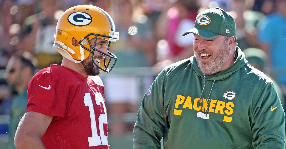 Packers' Mike McCarthy is planning for Aaron Rodgers to play on Thursday