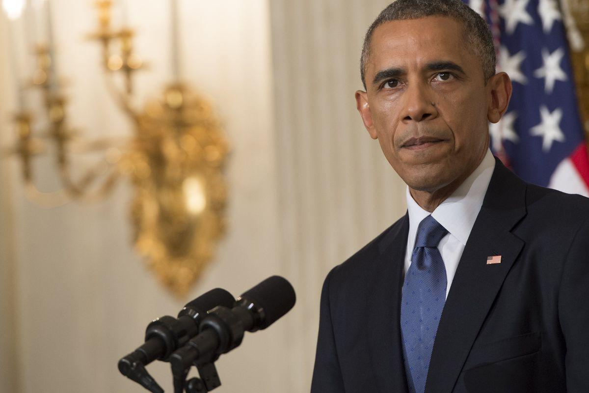 President Obama announces air strikes against ISIS in Iraq
