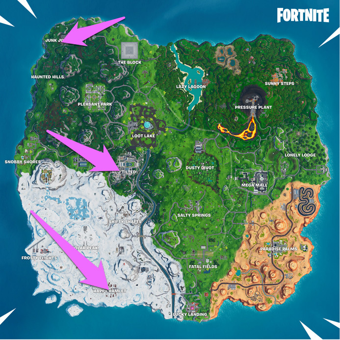 Visit Different Clocks Fortnite Challenge Guide Polygon