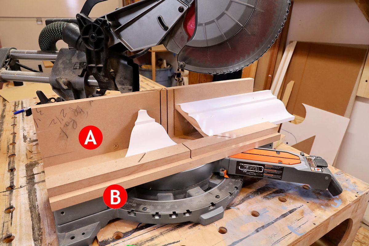 Laboratório de ferramentas: serras de meia esquadria deslizantes, Primavera 2021, gabarito 2 com etiquetas