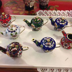 Small tea pots, $4.75 each (was $9.50)