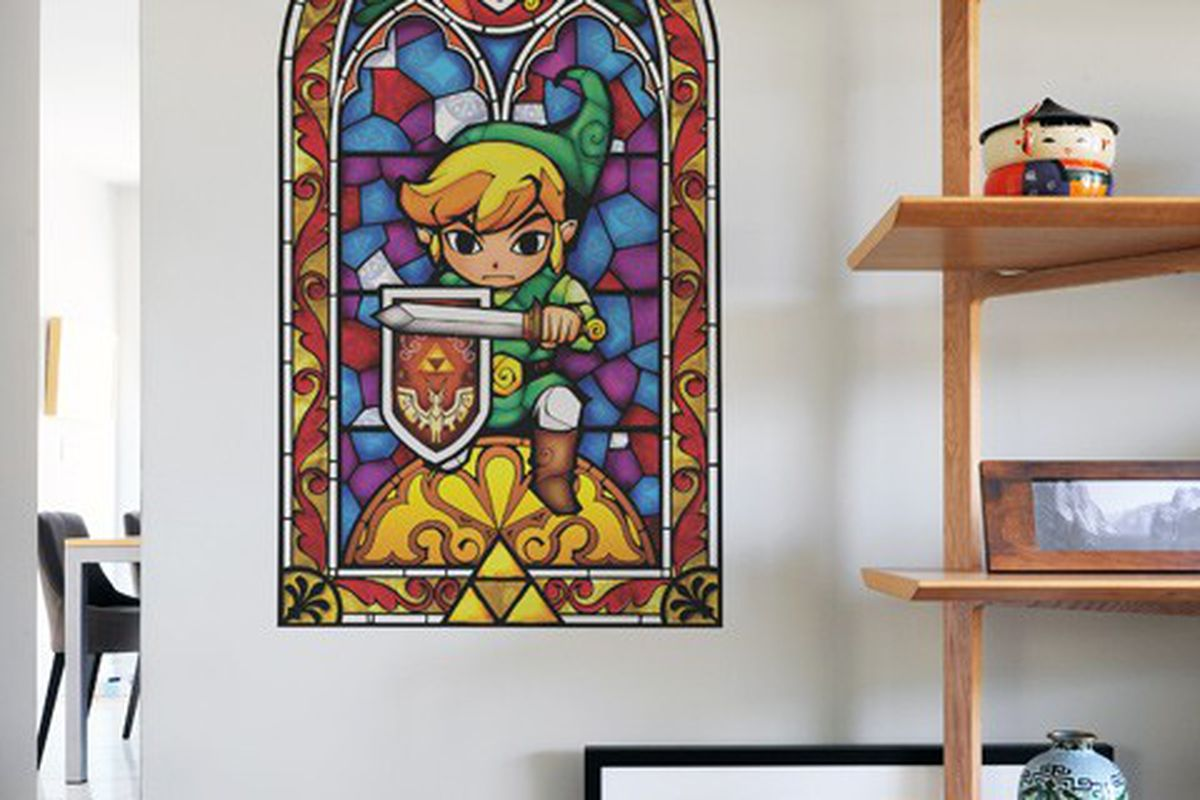 Wall Decals Open A Window To The Legend Of Zelda The Wind Waker - Wall decals hd