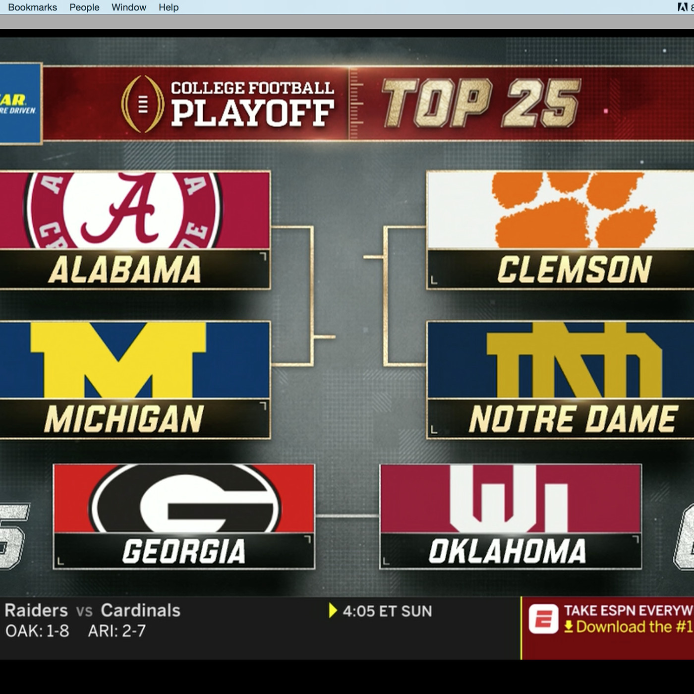 Notre Dame Stay Put At 3 In New College Football Playoff