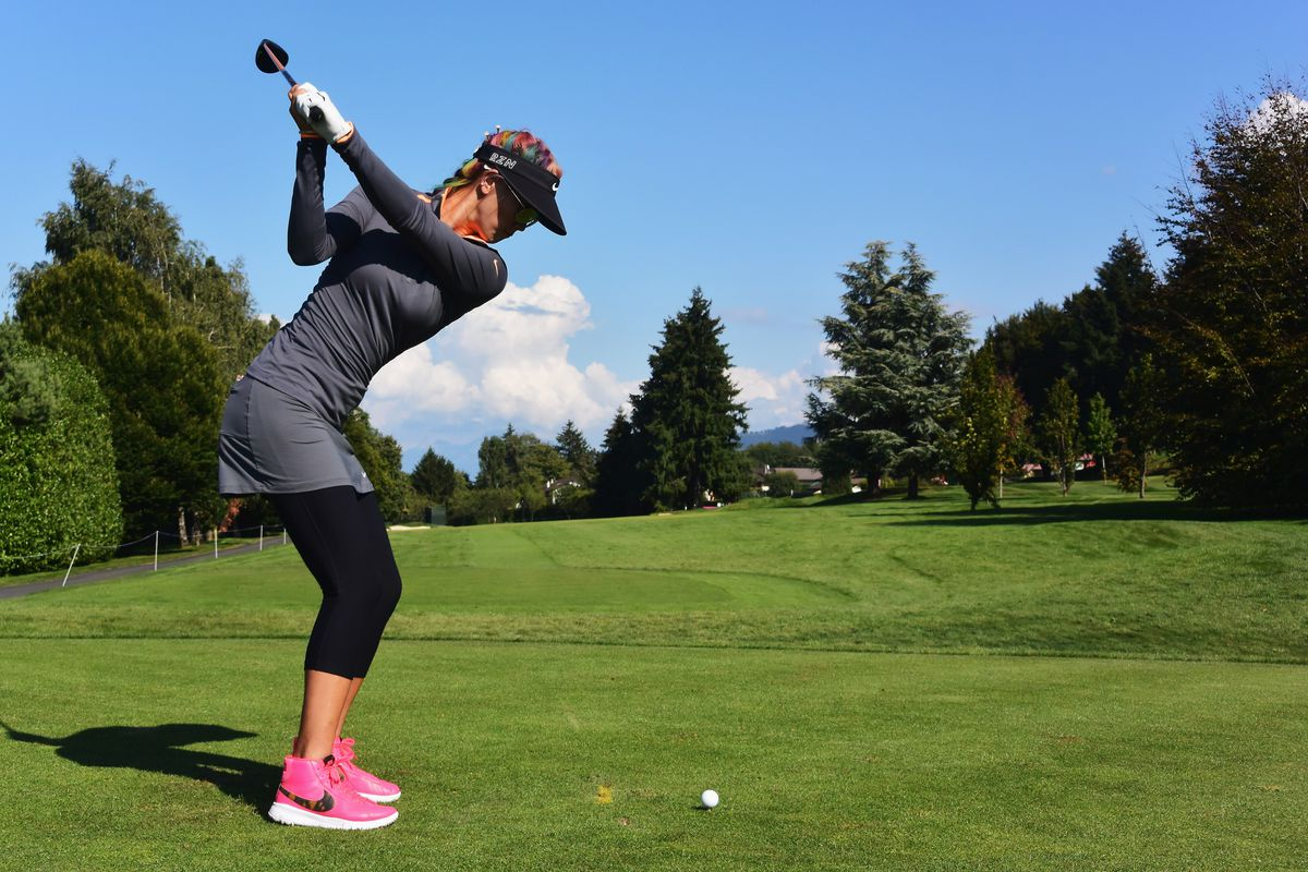uk availability a567a 2589a Inbee Park eyes  Super Career Grand Slam  while Michelle Wie wins style  points at Evian