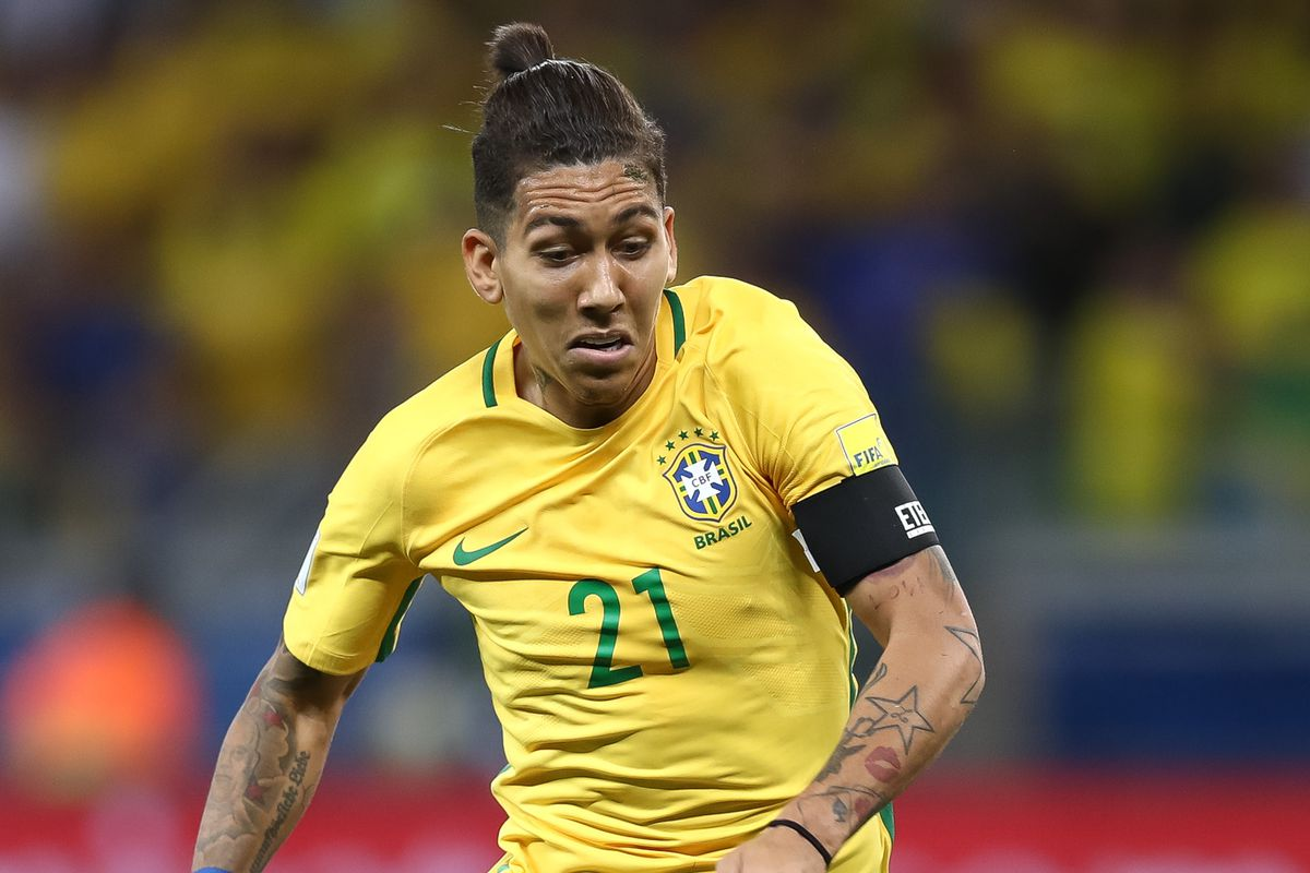 Roberto Firmino Set for First Brazil Start Since Joining Liverpool