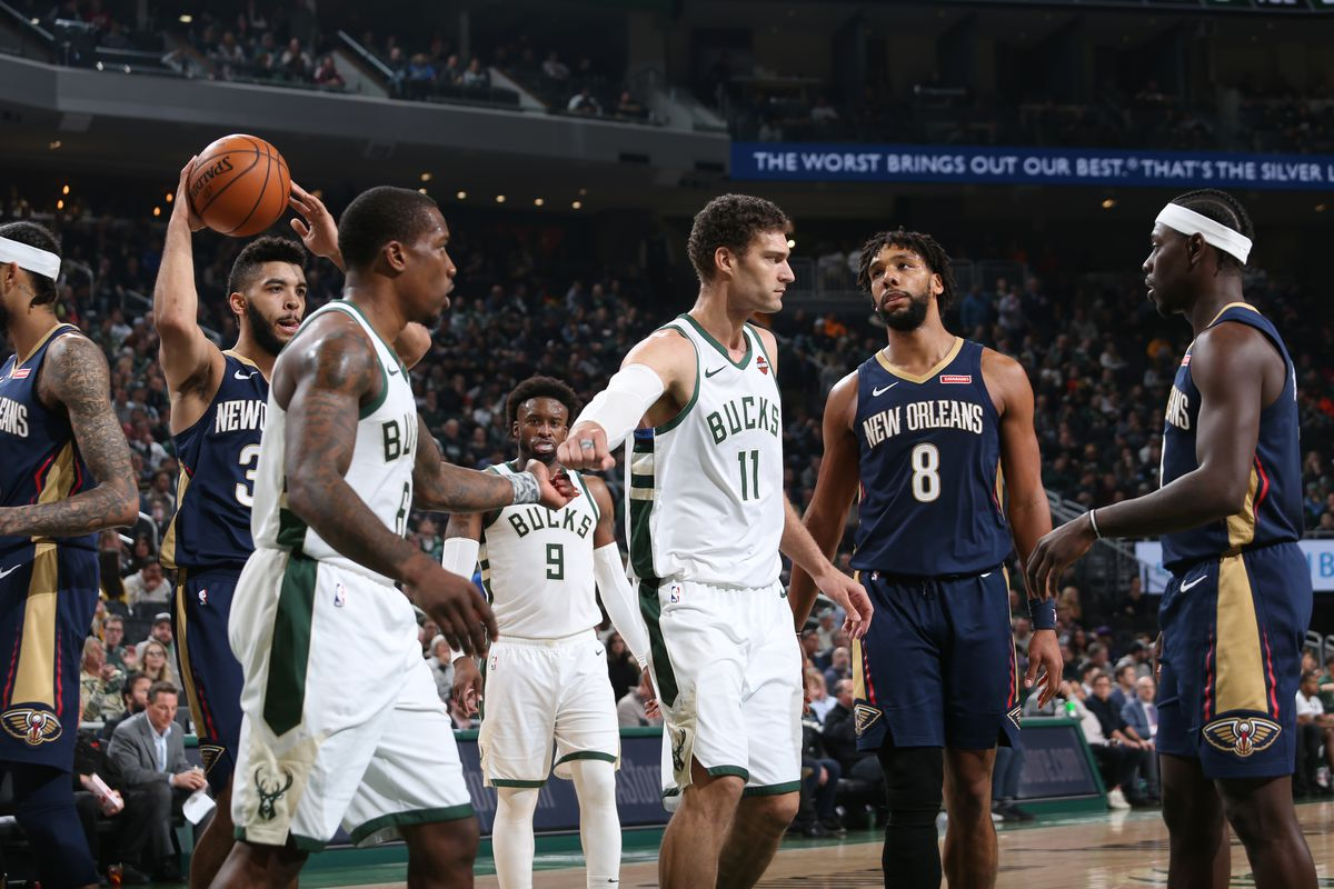 New Orleans Pelicans v Milwaukee Bucks