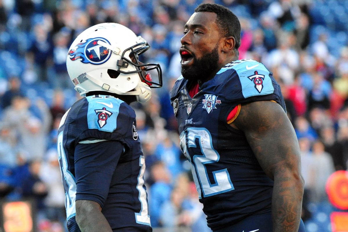 Delanie Walker There were 6 or 7 cancers on the Titans last year