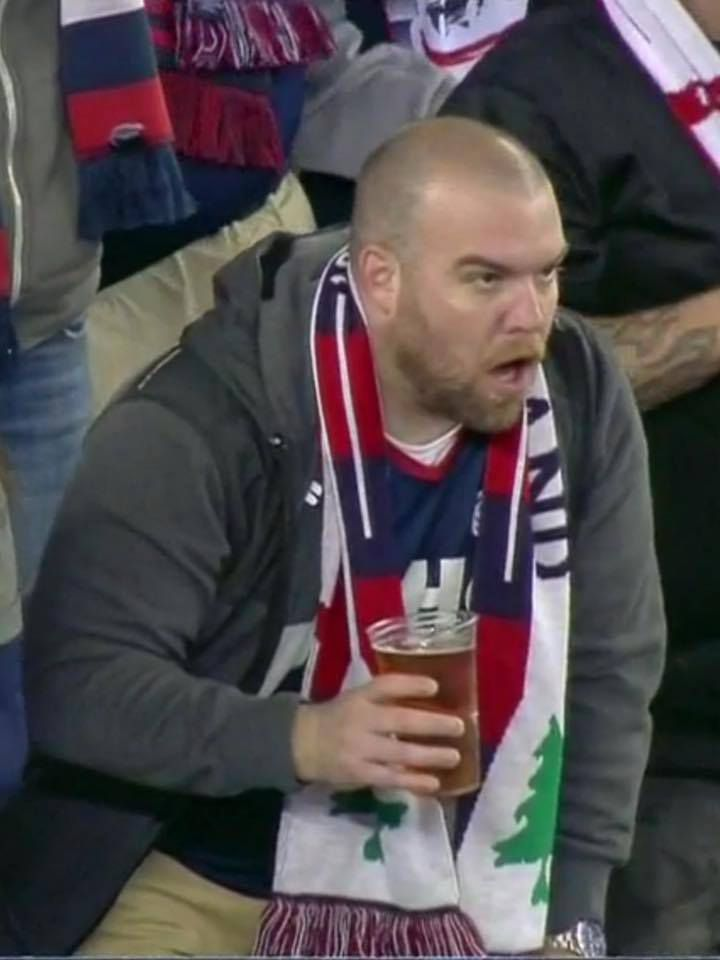 Shocked Revs fan