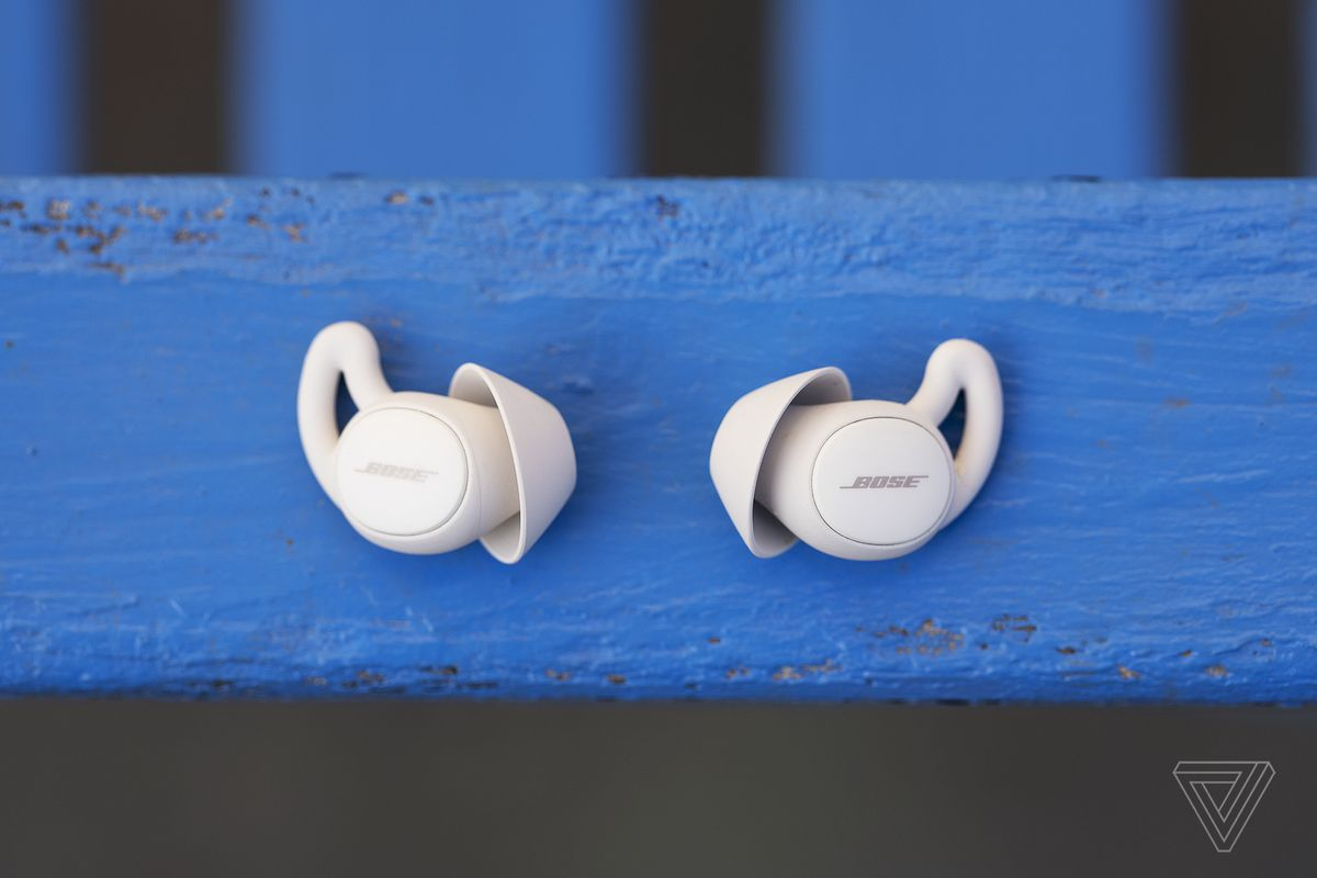 The Sleepbuds are small enough to fit snugly into your ear.