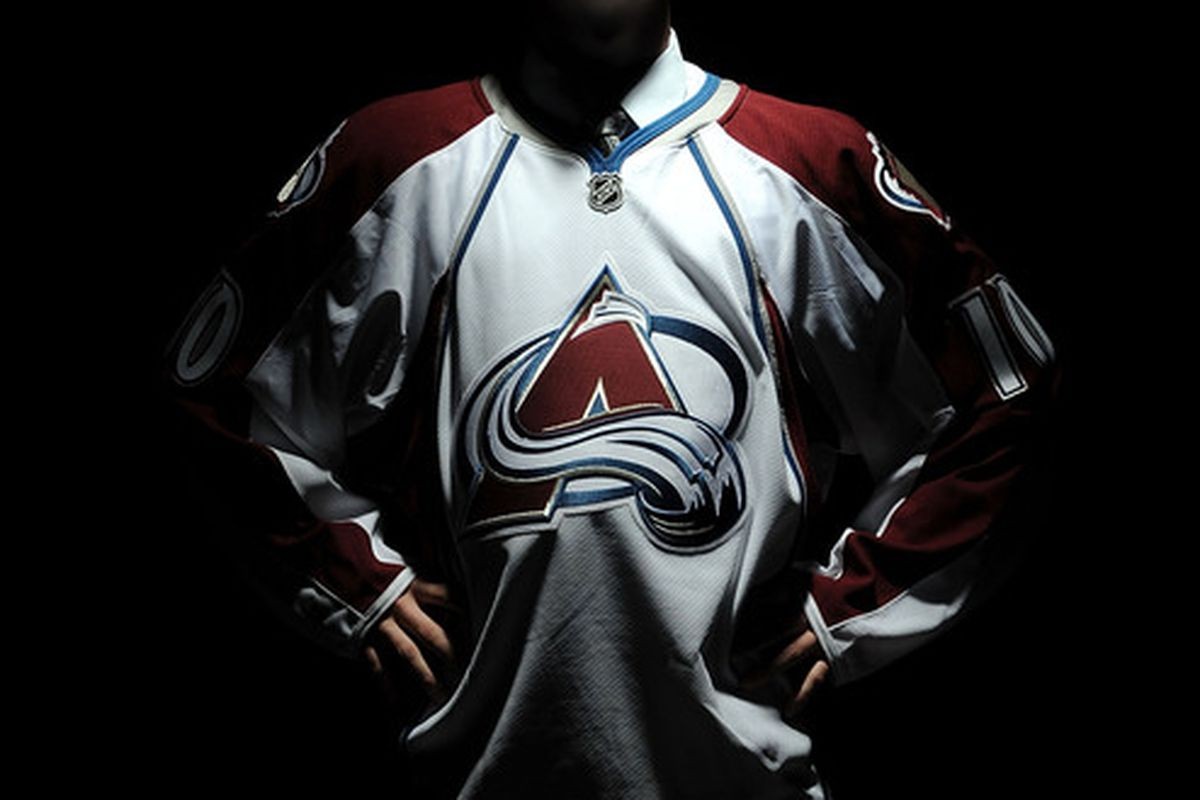 LOS ANGELES, CA - JUNE 26:  Calvin Pickard, drafted in the second round by the Colorado Avalanche, poses for a portrait during the 2010 NHL Entry Draft at Staples Center on June 26, 2010 in Los Angeles, California.  (Photo by Harry How/Getty Images)