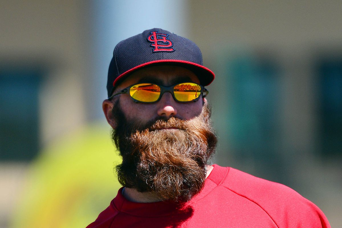 One day, our children will judge us for letting beards like this happen.