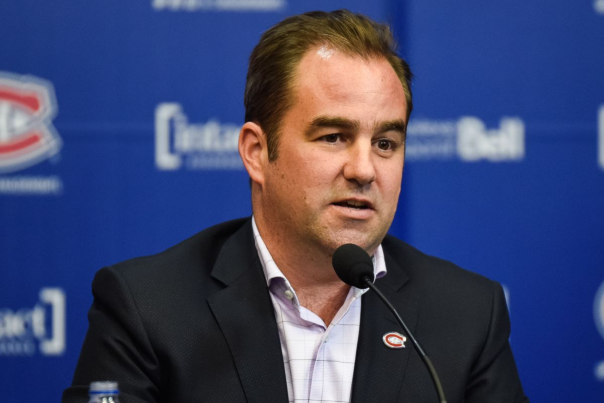NHL: APR 9 Montreal Canadiens end of season press conference