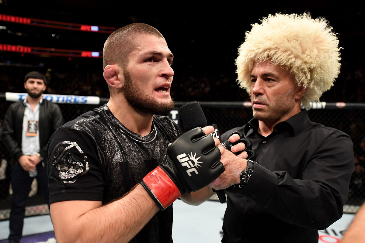 Khabib Nurmagomedov says he was originally slated to fight for the title at UFC 205.