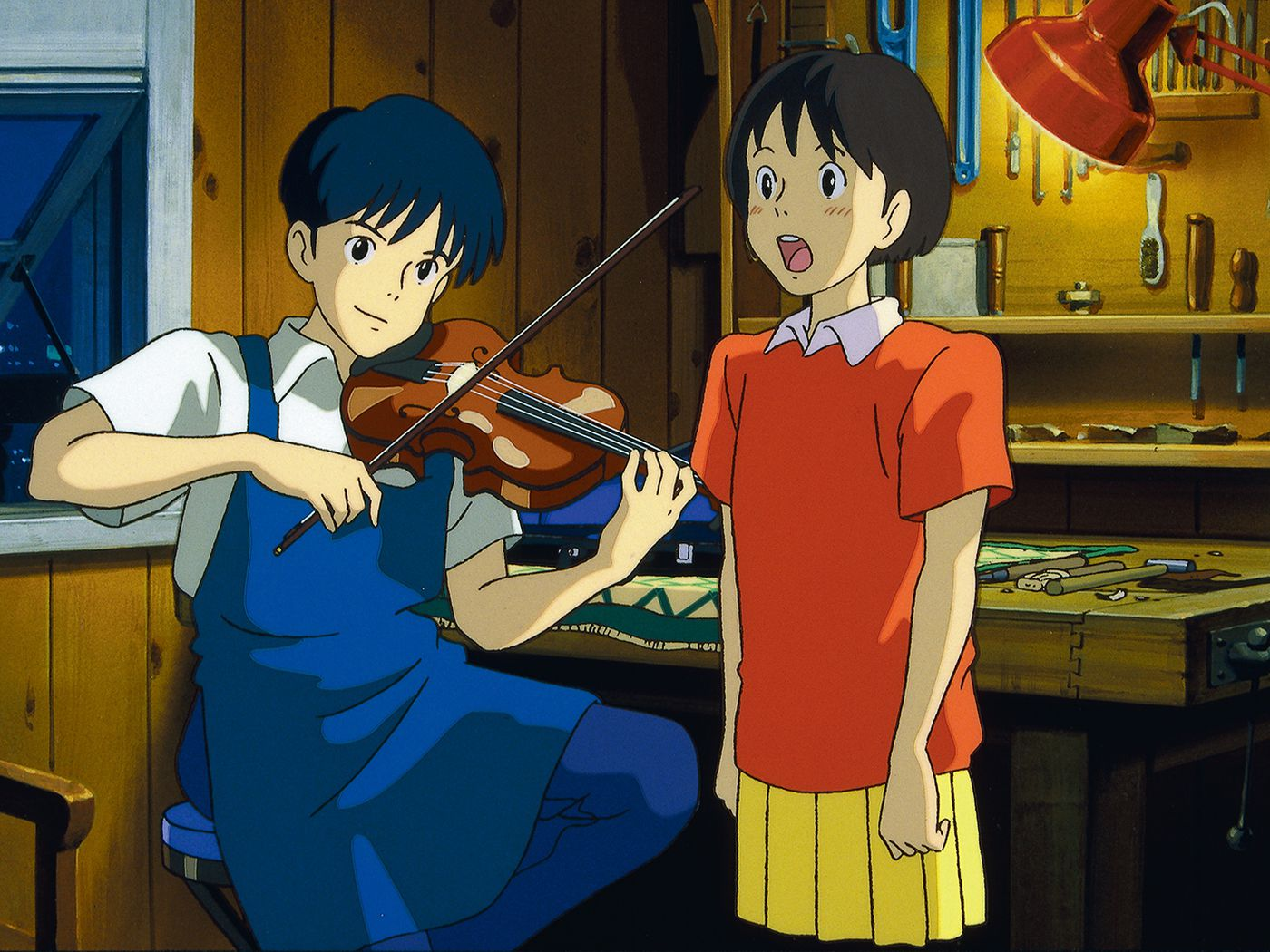 John Denver S Country Roads Finds New Meaning In Ghibli S Whisper Of The Heart Polygon