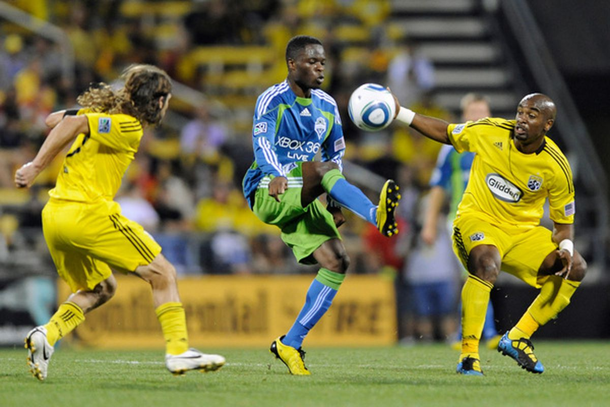 Steve Zakuani has proven that he's not just all physical talent, showing that he is willing evolve as defenses adjust to him.
