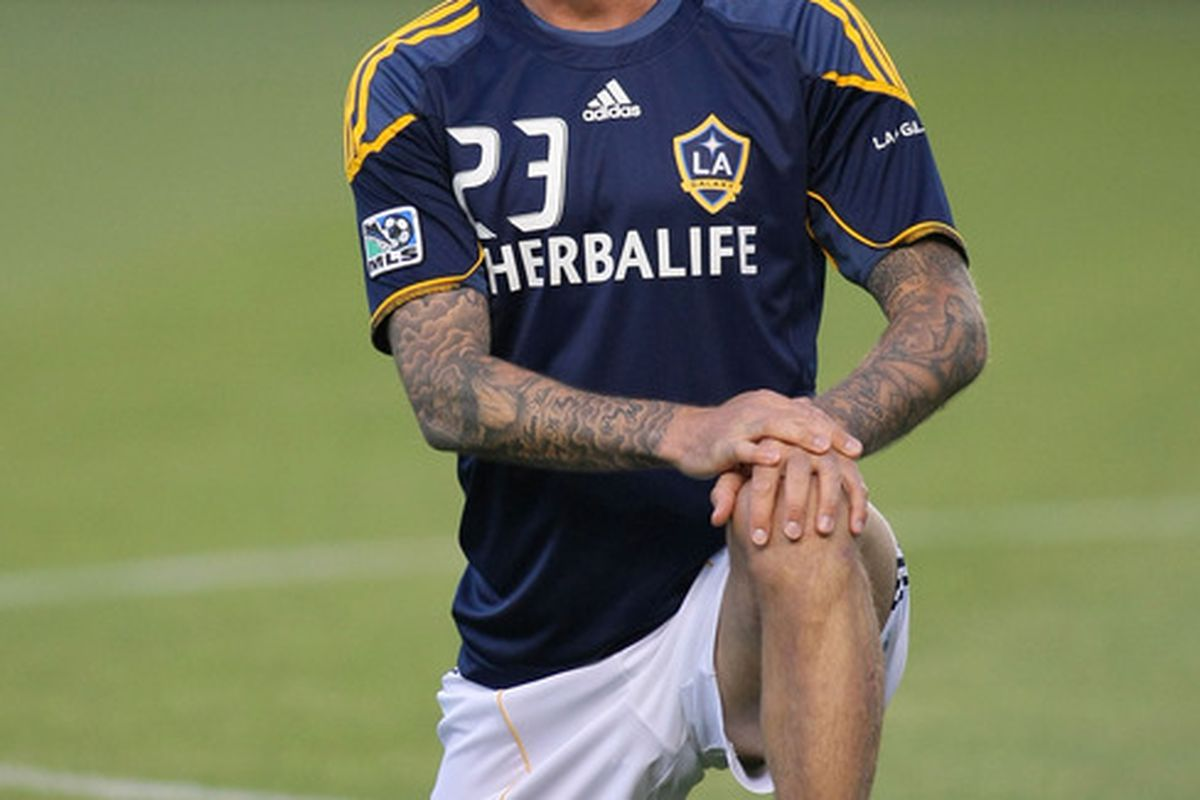 David Beckham: Still the highest paid player in Major League Soccer