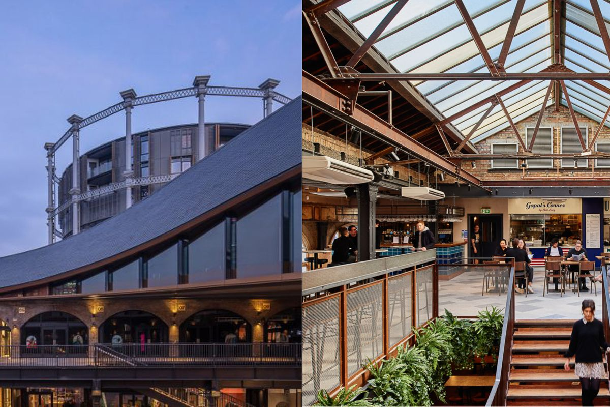 Coal Drops Yard King's Cross and Market Halls Victoria are London's two newest and biggest food hall developments