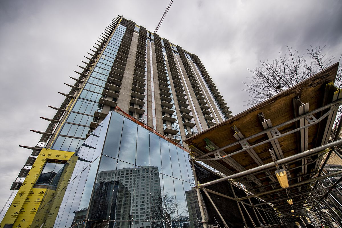 Photos Buckhead S Tallest Tower In A Decade Lends Unique Atlanta Perspectives Curbed Atlanta