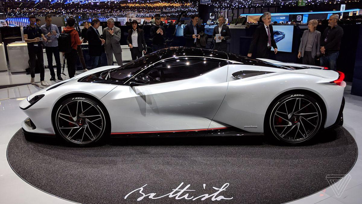 The electric Pininfarina Battista is my new dream car - The Verge