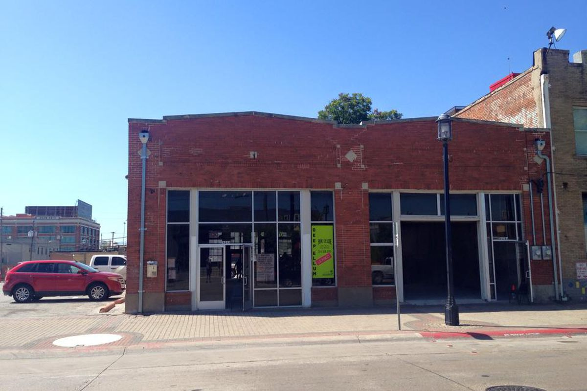 The future home of Filament at 2626 Main Street.