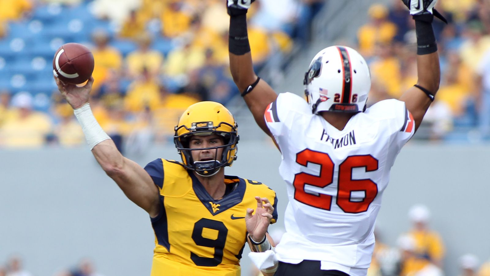 WVU Shocks The World, Beats #11 OSU 30-21
