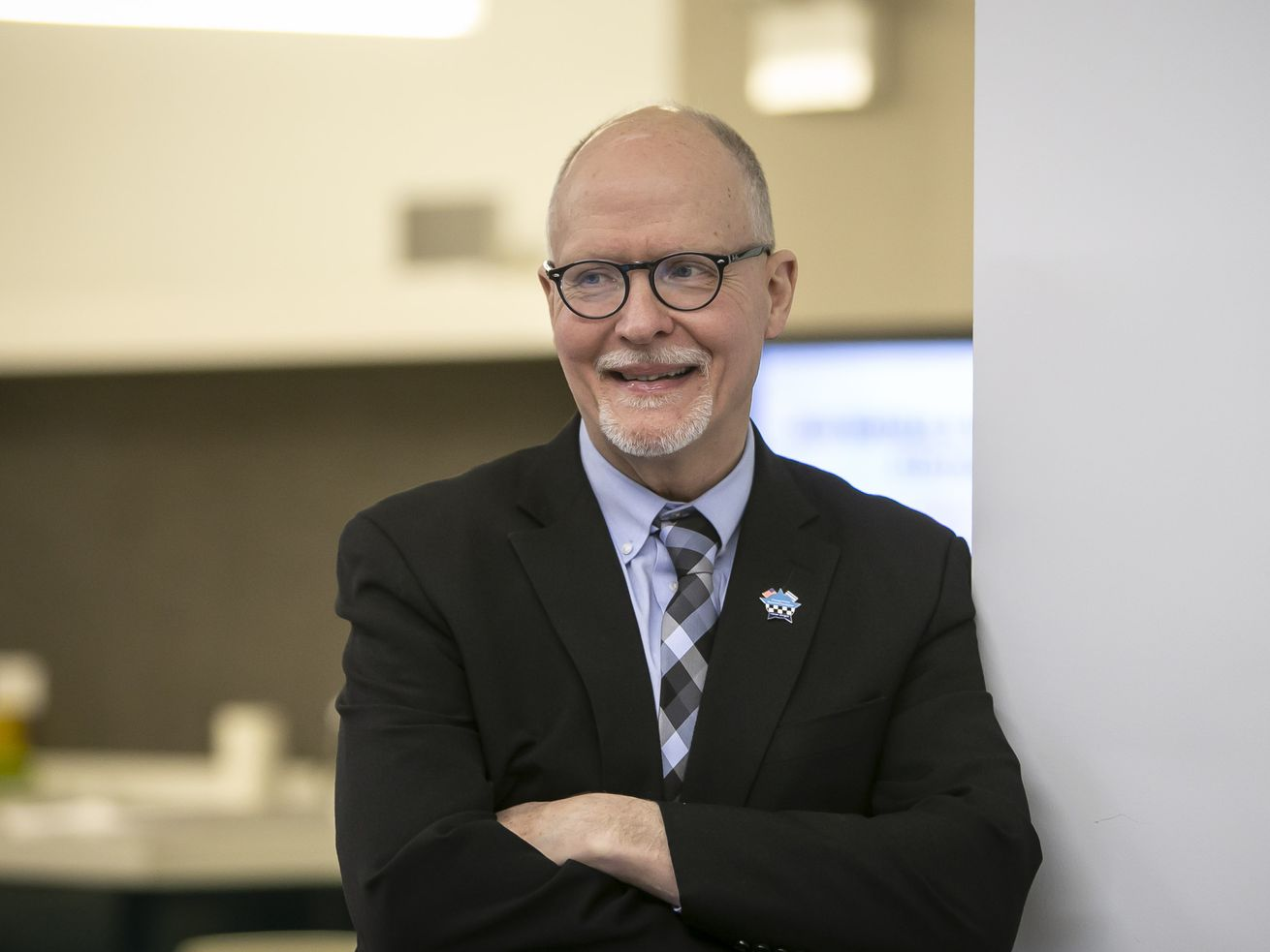 Mayoral candidate Paul Vallas at the Sun-Times on election night, Tuesday, February 26, 2019.
