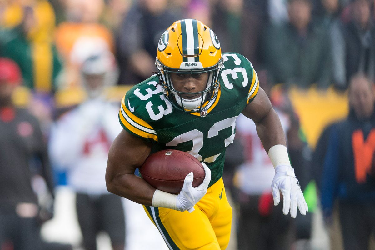 Fantasy Football Rookies 2017 Aaron Jones Is Front Runner To Be Packers Workhorse In 2018 Sbnation Com