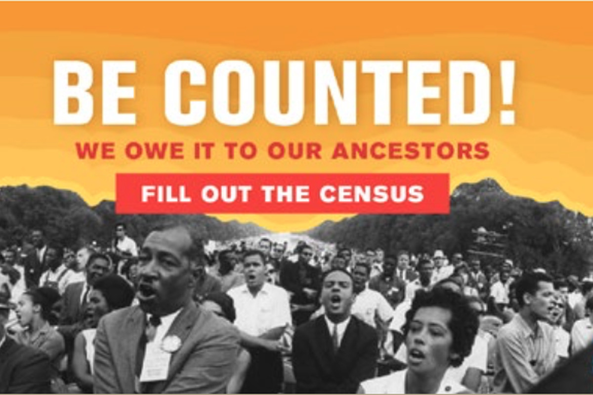 Facing a lagging 66 percent response rate with the 2020 Census, Illinois officials have declared Juneteenth — this Friday commemorating the June 19, 1865 emancipation of slavery in Texas — as Black Census Day, highlighting the count's potential to impact racial inequities. This is among the Black History-themed media in the Illinois Department of Human Services' Black Census Day campaign.