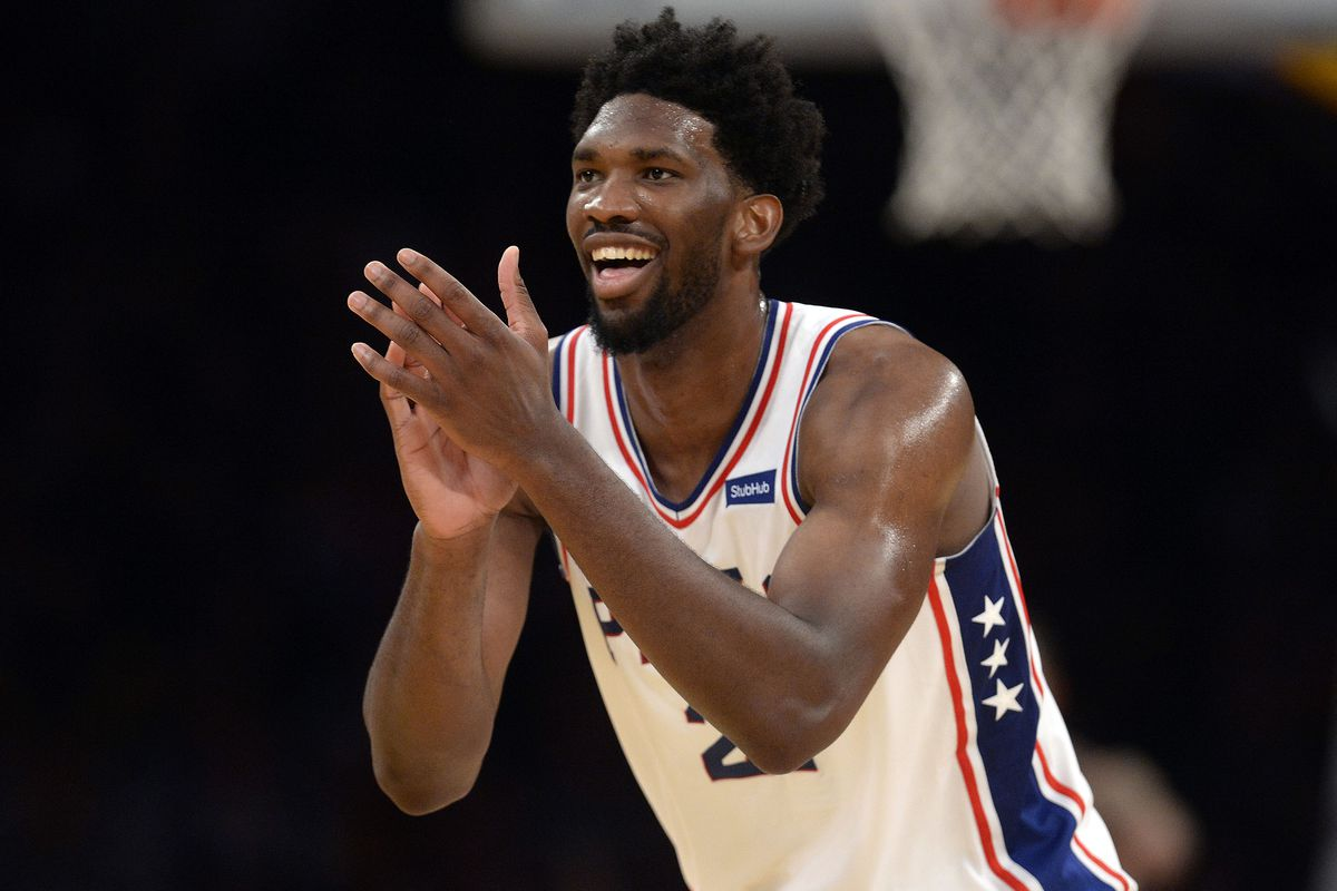 Embiid's 46 leads 76ers past Lakers